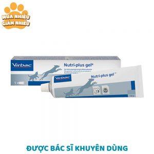 Gel dinh dưỡng cho chó mèo còi cọc Virbac Nutri Plus 120g - Pháp