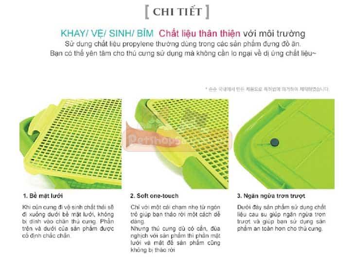 Khay Vệ Sinh Cho Chó Purmi – 54x42cm