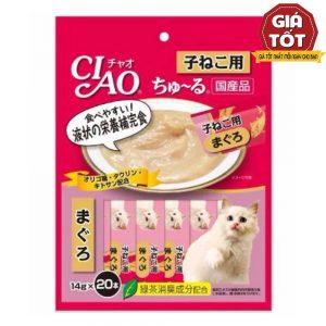 Pate Cho Mèo Ciao Churu cho mèo con (14gx20) - Hãng Nhật - Hàng Thái