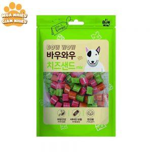 Snack sandwich hỗn hợp cho chó Bowwow 120g - Hàn Quốc