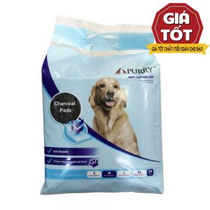 Tấm lót vệ sinh cho chó Purry - Than hoạt tính - siêu khử mùi