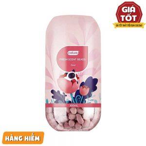 Viên khử mùi cát vệ sinh mèo Cature 450ml - Hương hoa - Mỹ