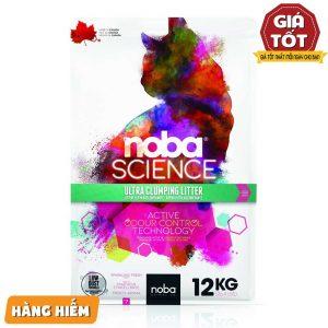 Cát vệ sinh Noba Science Sparkling Fresh 12kg - Siêu thấm hút - Canada
