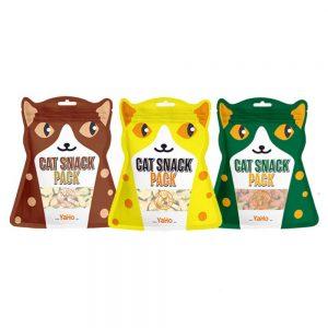 Bánh thưởng Cat Snack Pack YaHo 80g - Tăng cường miễn dịch