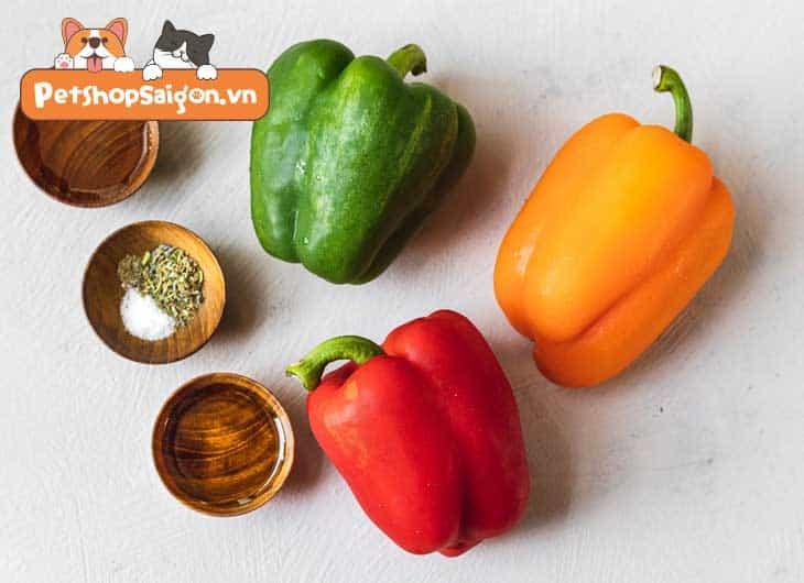 Chó ăn ớt chuông được không?