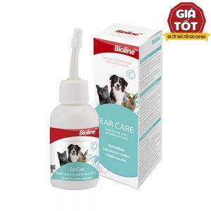 Dung dịch rửa tai trị viêm Bioline 50ml - Diệt khuẩn