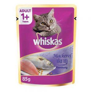 Pate cho mèo trưởng thành Whiskas 85g - Vị cá thu - Mỹ