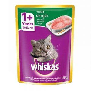 Pate cho mèo trưởng thành Whiskas 85g - Vị cá ngừ - Mỹ