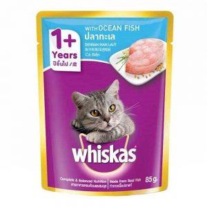 Pate cho mèo trưởng thành Whiskas 85g - Vị cá biển - Mỹ