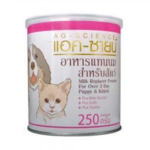 Sữa cho chó mèo AG 250g - Công thức sữa dê - Thái Lan