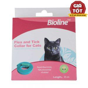 Vòng cổ chống ve rận cho mèo Bioline 35cm - ...