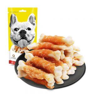 Bánh thưởng xương cuộn gà YaHo 100g - Bổ sung dinh dưỡng