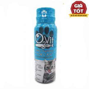 Siro kích thích ăn uống cho mèo 03Vit (50ml) - Trị biếng ăn - Thái Lan