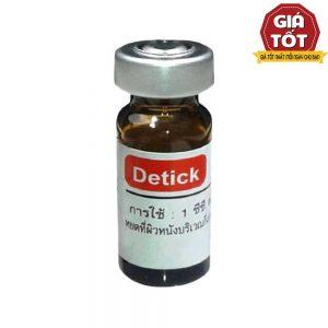 Thuốc nhỏ gáy trị ve Detick - Ức chế ký sinh ...