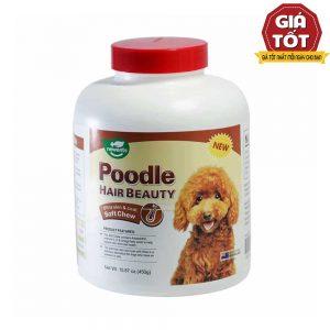 Viên dưỡng lông cho Poodle Vegebrand 450g - Tăng đề kháng