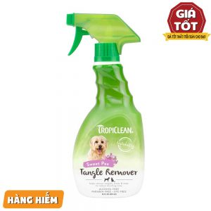 Bình xịt Tropiclean Tangle Remover 236ml - ...