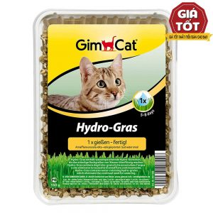 Cỏ mèo tự trồng Gimcat Hydro-grass 150g - Giảm căng thẳng - Đức