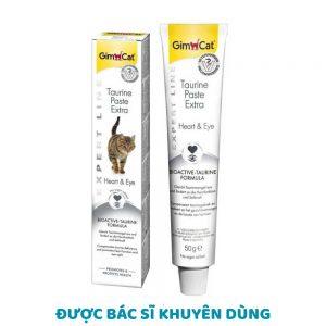 Gel dinh dưỡng Gimcat Taurine 50g - Sáng mắt, khoẻ tim - Đức