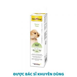 Gel dinh dưỡng Gimdog Derma 100g - Trị viêm da, rụng lông - Đức