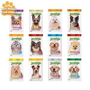 Jerhigh Snack mềm cho chó 70g - 100% thịt tự nhiên - Thái