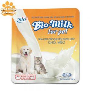 Sữa Biomilk cho chó mèo còi cọc, chậm lớn 100g - Việt Nam