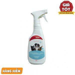 Xịt khử mùi môi trường và chó mèo Bioline 500ml - Lưu hương lâu