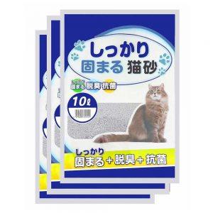 Cát Betonite Nhật trắng 10L - Phổ biến, được ưa chuộng
