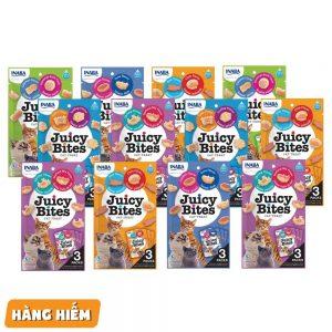 Snack thưởng mềm Juicy Bites 11g - 2 vị ...