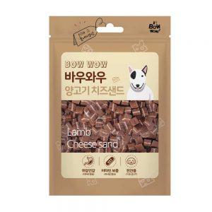 Bánh thưởng phô mai thịt cừu Bowwow 100g - Thịt tươi - Hàn Quốc