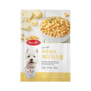 Phô mai viên cho chó Bowwow 100g - Lợi khuẩn Probiotic - Hàn Quốc