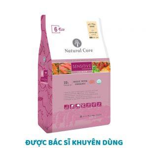Thức ăn cho chó dị ứng, da nhạy cảm Natural Core 10kg - Hàn quốc