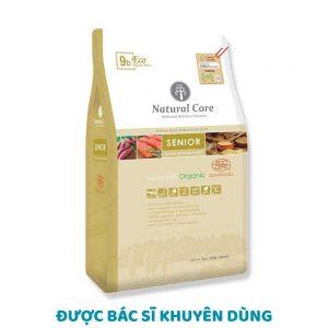 Thức ăn cho chó già Natural Core 1kg vị cá hồi - 100% Organic