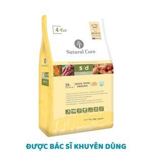 Thức ăn cho chó giảm cân Natural Core 1kg - 100% Organic - Hàn Quốc