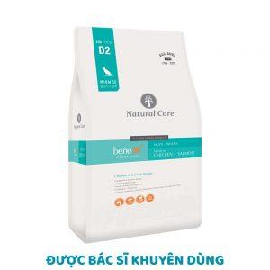 Thức ăn cho chó Natural Core Bene M50 2kg - Đạm Thuỷ Phân
