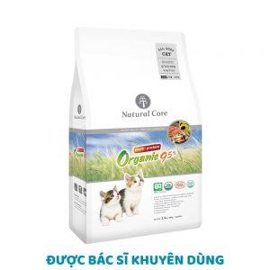 Thức ăn cho mèo chứa 95% đạm Natural Core 1kg - 100% organic