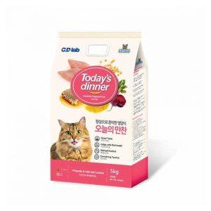 Thức ăn cho mèo Today's Dinner 5kg - Giàu dinh dưỡng - Hàn Quốc