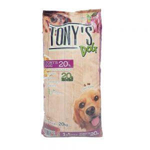 Thức ăn chó trưởng thành Tony's Dog 20kg - Tăng miễn dịch - Thái Lan