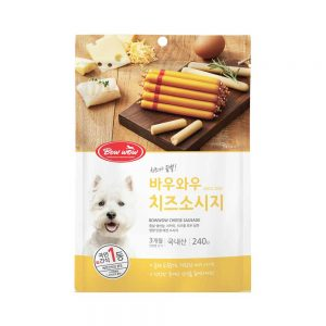 Xúc xích phô mai Bowwow 240g - Không hương liệu - Hàn Quốc